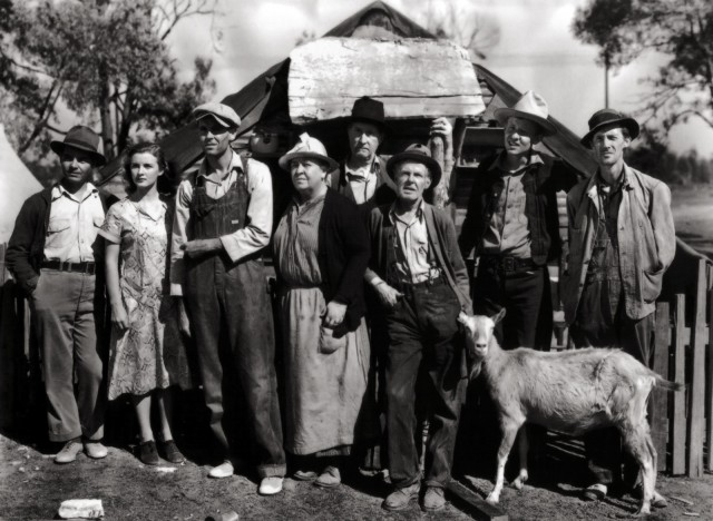 """""""Grapes of Wrath"""" movie (1940)"""